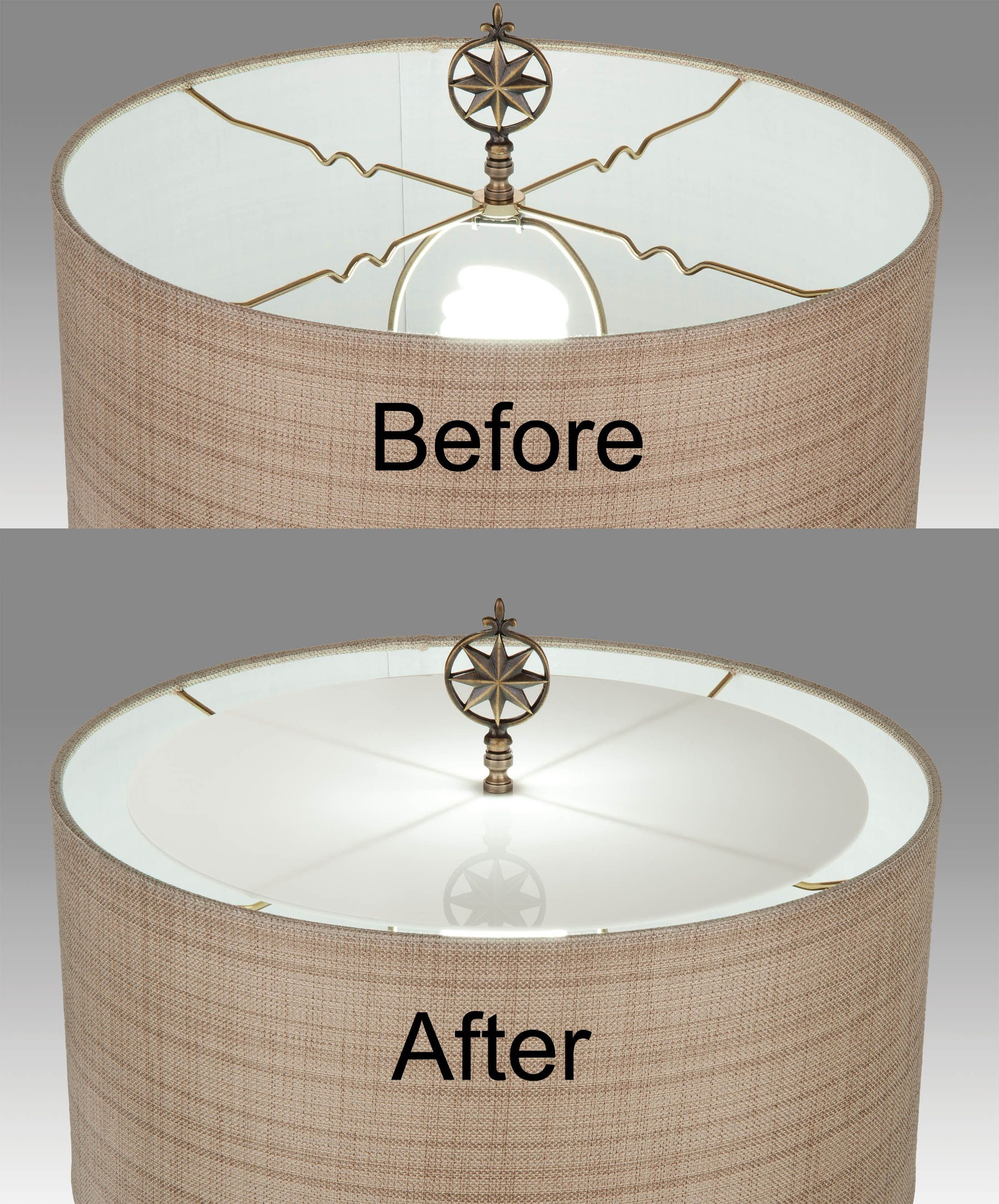 Acrylic Lamp Shade Diffusers Choice Of 6 Sizes Wooden