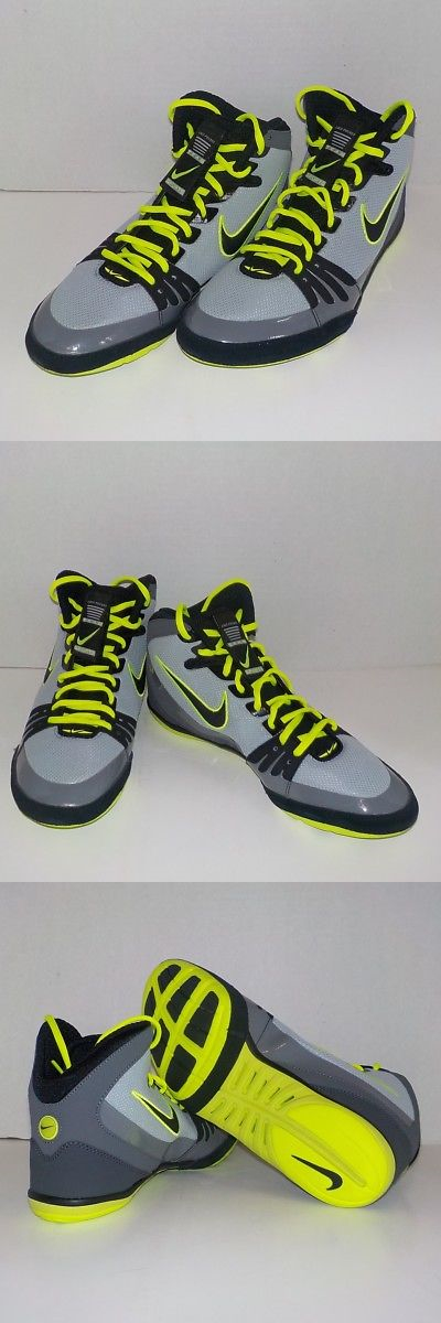Footwear 79799: Nike Freek Wrestling Shoes Black Gray 316403 007 Men 11.5  Fast Ship -