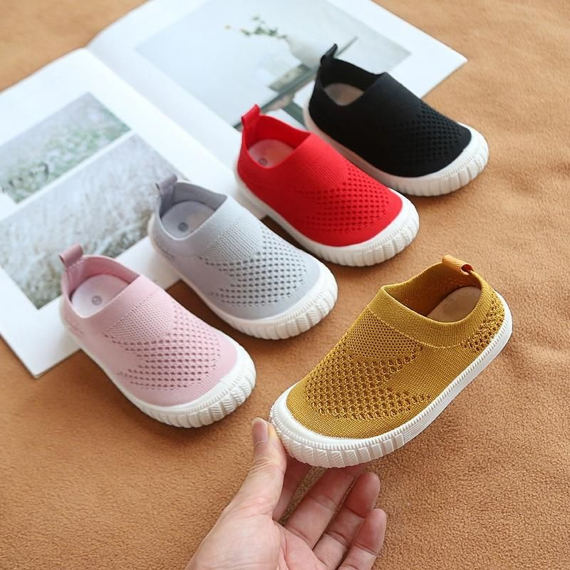 Happy Cherry Baby Fashion Sneaker Lovely Mesh Child Toddler Casual Sport First Walking Shoes