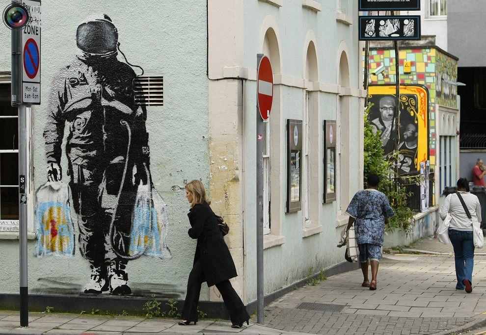 Banksy (...) - Bristol (UK)