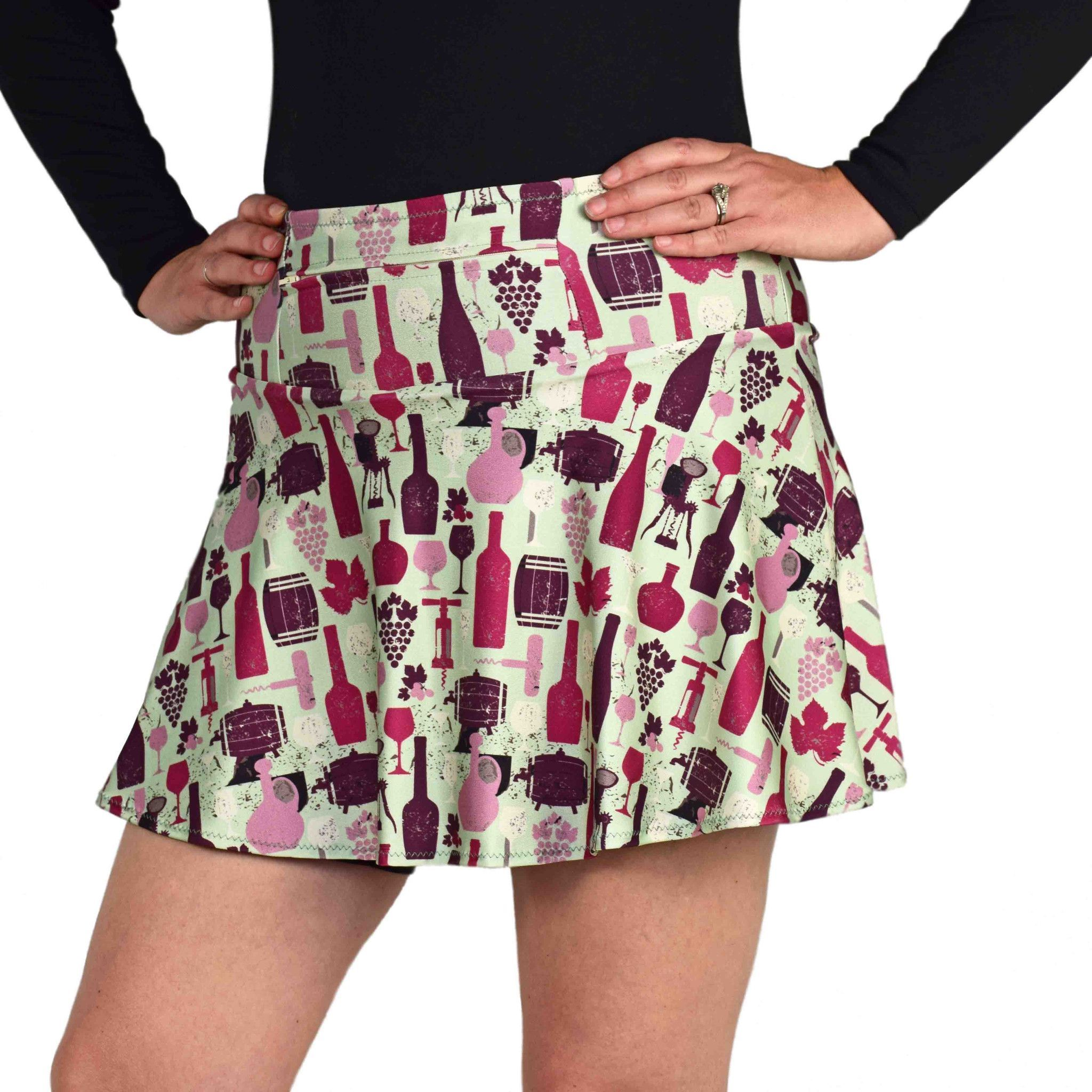 SwingStyle WineALittle Running skirts, Athletic skirts