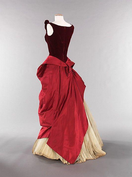 Charles James dress.