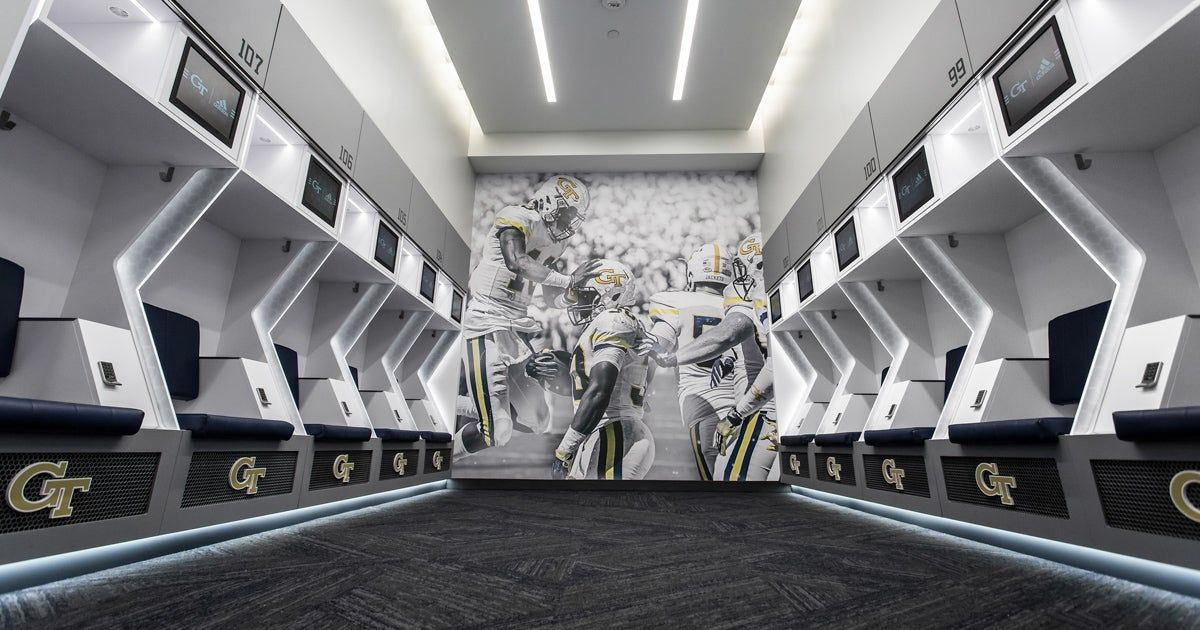 Institute of Technology Football Locker Room in