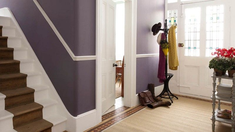 Peinture couloir et décoration de l\'entrée- 57 idées en couleurs ...