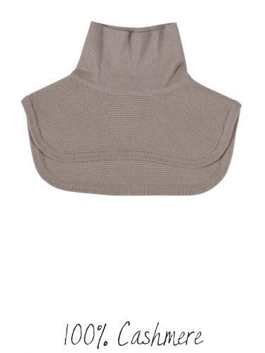 Cashmere neck warmer