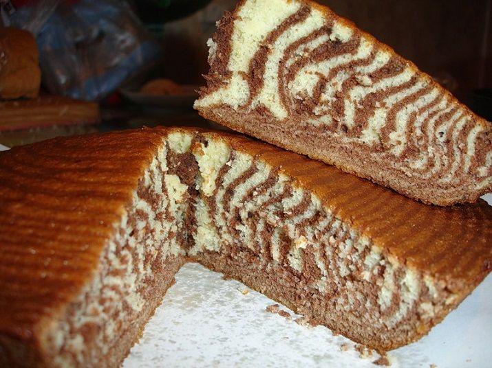 зебра пирог на кефире рецепт с фото индекс деревни пашозера