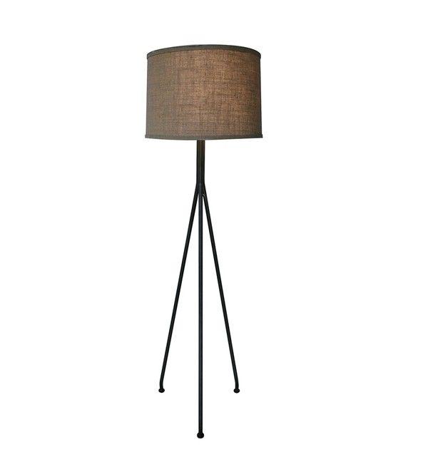 Noir furniture tripod floor lamp lamp365