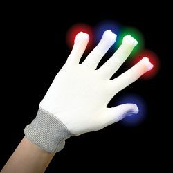LOS GUANTES LUMINOSOS