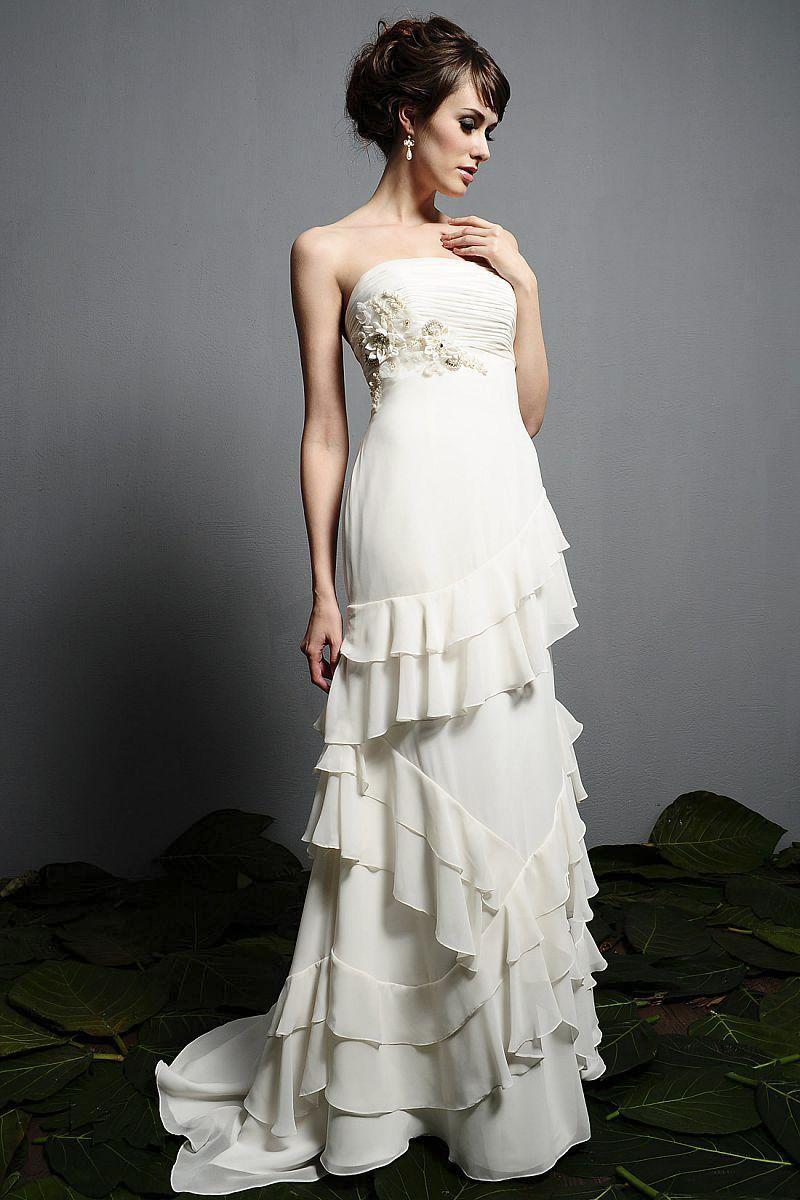 Wedding Dresses For Flat Chested Women Dress S