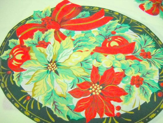 A great print that lends itself to larger items.  $9.00