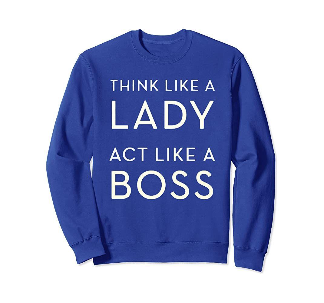 Amazon Com Boss Lady Womens Teenagers Sweatshirt Clothing Sweatshirts Boss Lady Boss Shirts [ 1000 x 1070 Pixel ]