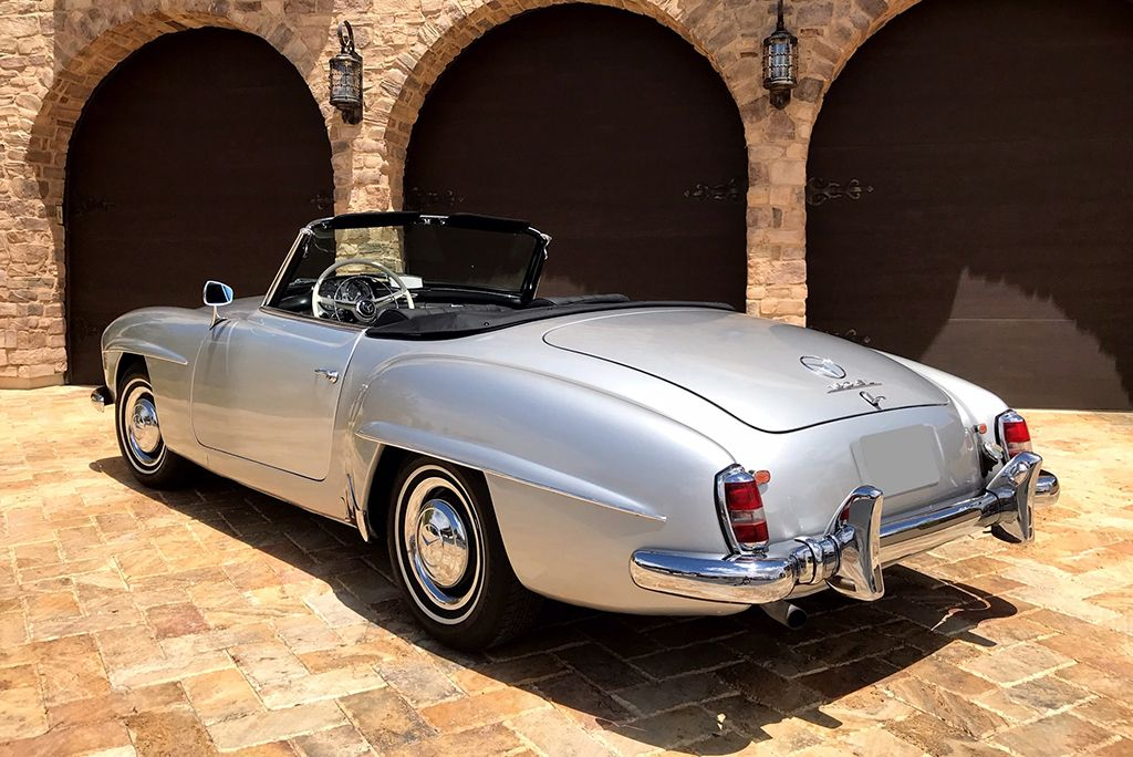 2019 Las Vegas Auction Feature Car 1959 Mercedes Benz 190sl Roadster Barrett Jackson Auction Company World S Greatest Collector Car Auctions Classic Cars Muscle Classic Cars Mercedes Benz Classic