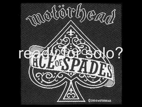 Motörhead- ace of spades(studio version)