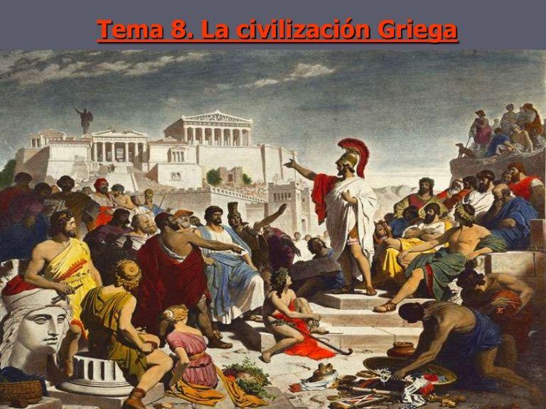 PRESENTACIÓN: Tema 10. Grecia