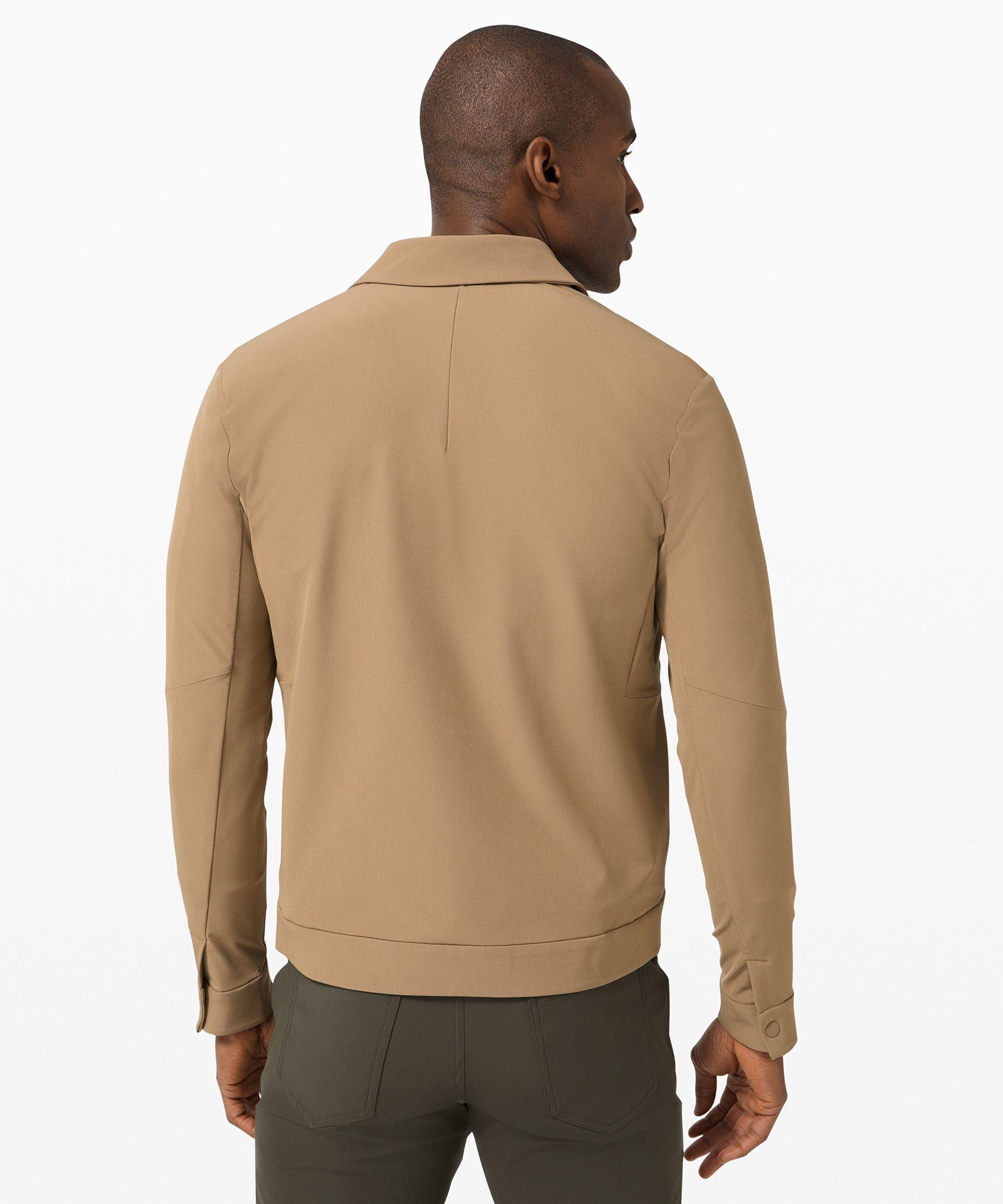 Lululemon Men S City Excursion Jacket Frontier Size Xxl Long Sleeve Tshirt Men Classic Jeans Mens Jackets [ 2160 x 1800 Pixel ]