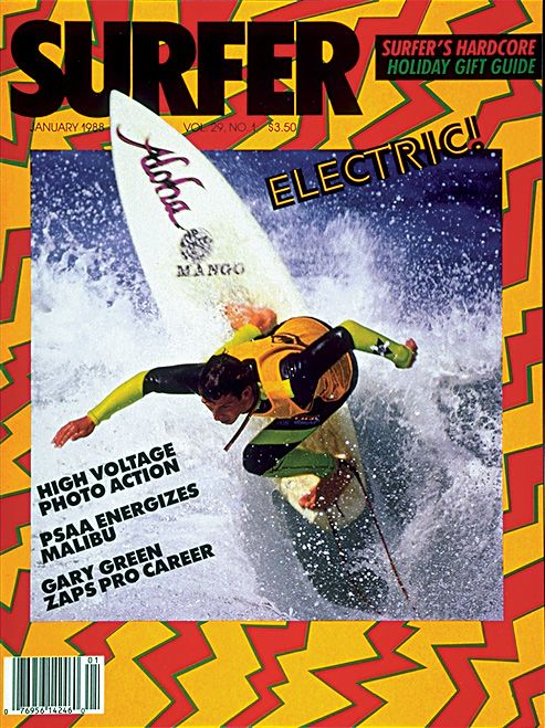 1988 Covers in 2020 Surfer magazine, Surfing, Vintage surf