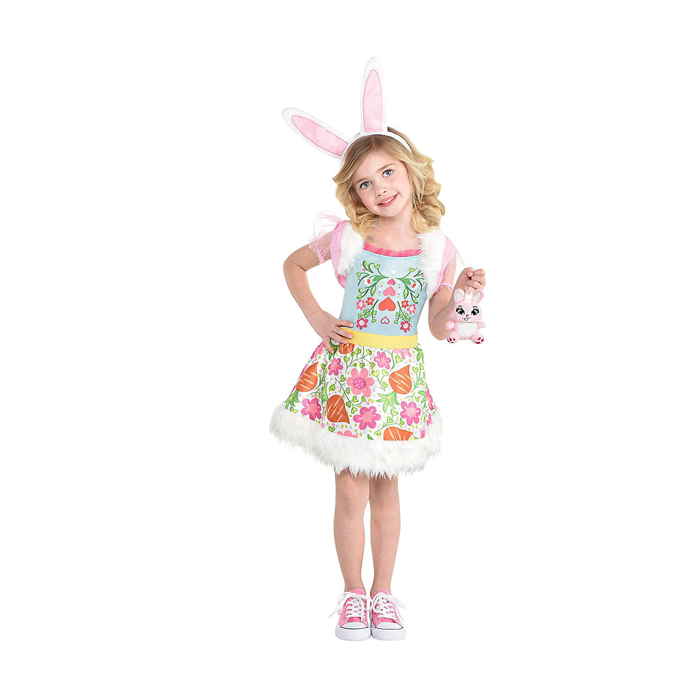 Girls Bree Bunny Costume Enchantimals Party City