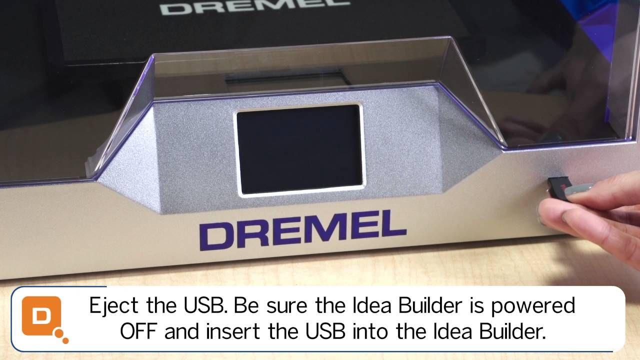 Dremel 3d40 idea builder updating firmware and software