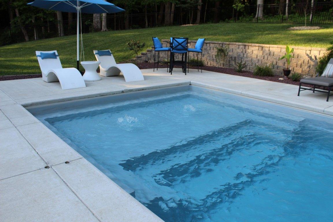 Imagine Pools The Illusion 35 Fiberglass Swimming Pools Pool Automatic Pool Cover