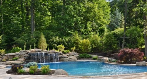 A proper pool landscape design is designed and maintained by our talented  team of architects and horticulturists and helps tie the property together. - Pin By Tina Sivyer On Pool Designs Pinterest Landscape Designs