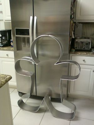 Giant Cookie Cutter Gingerbread Man 4 Ft My Husband Already Says No