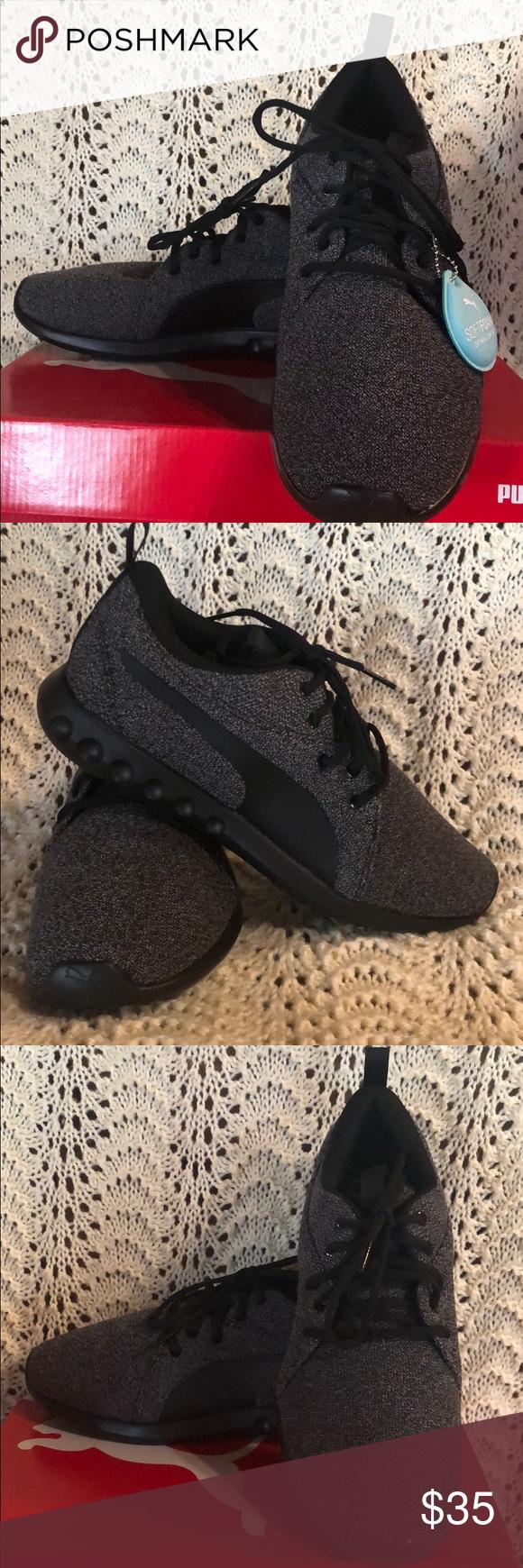 france mens puma soft foam sneakers