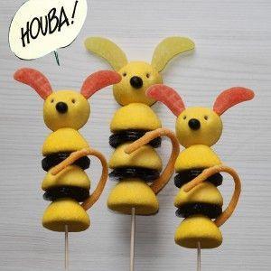 Brochette de bonbons Marsupilami: