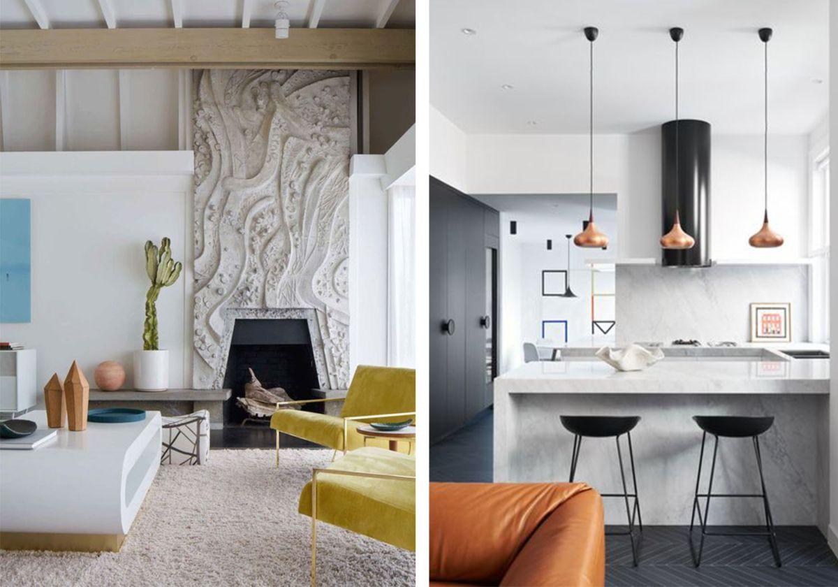 Design 101 Modern Vs Contemporary Style Bloggin Pinterest