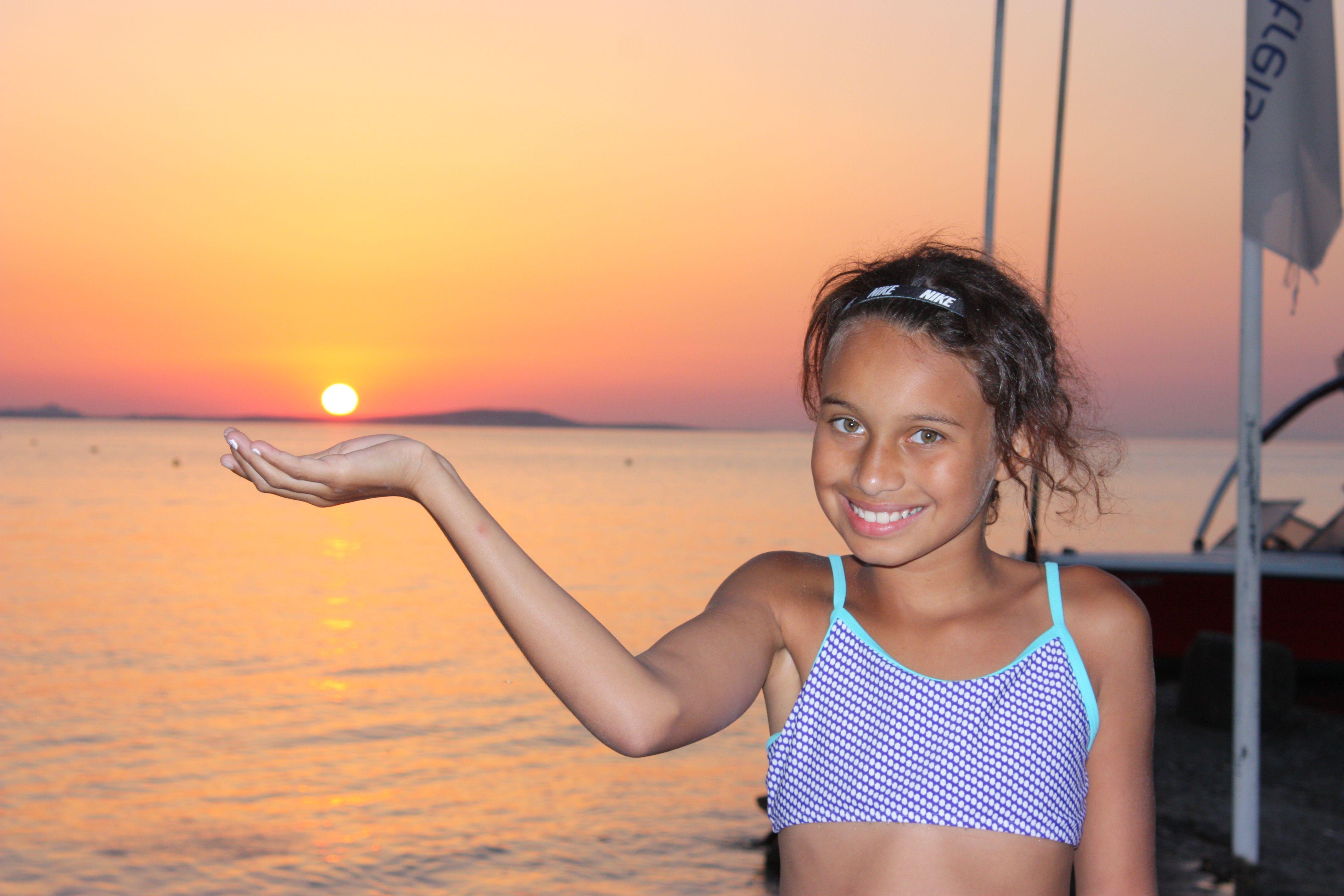 Catch the sunset....