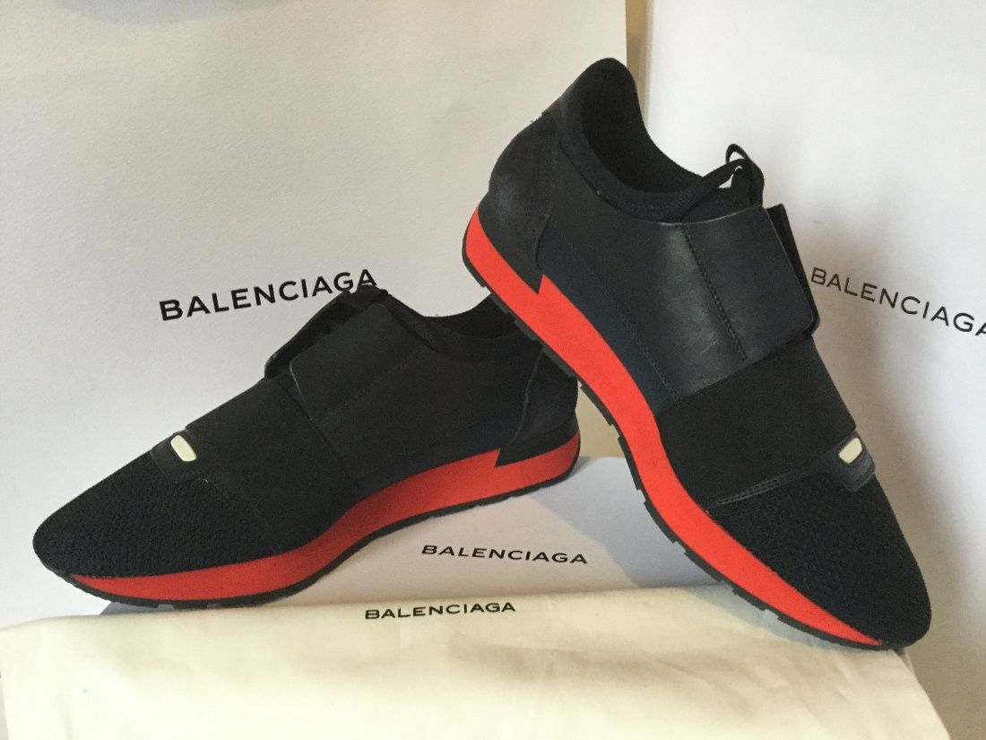 15060430cbc6 New black navy red model of SS16 Balenciaga runners