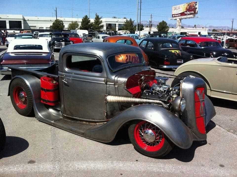Badass truck | Rat Rods and Old School Rides | Pinterest | Badass ...