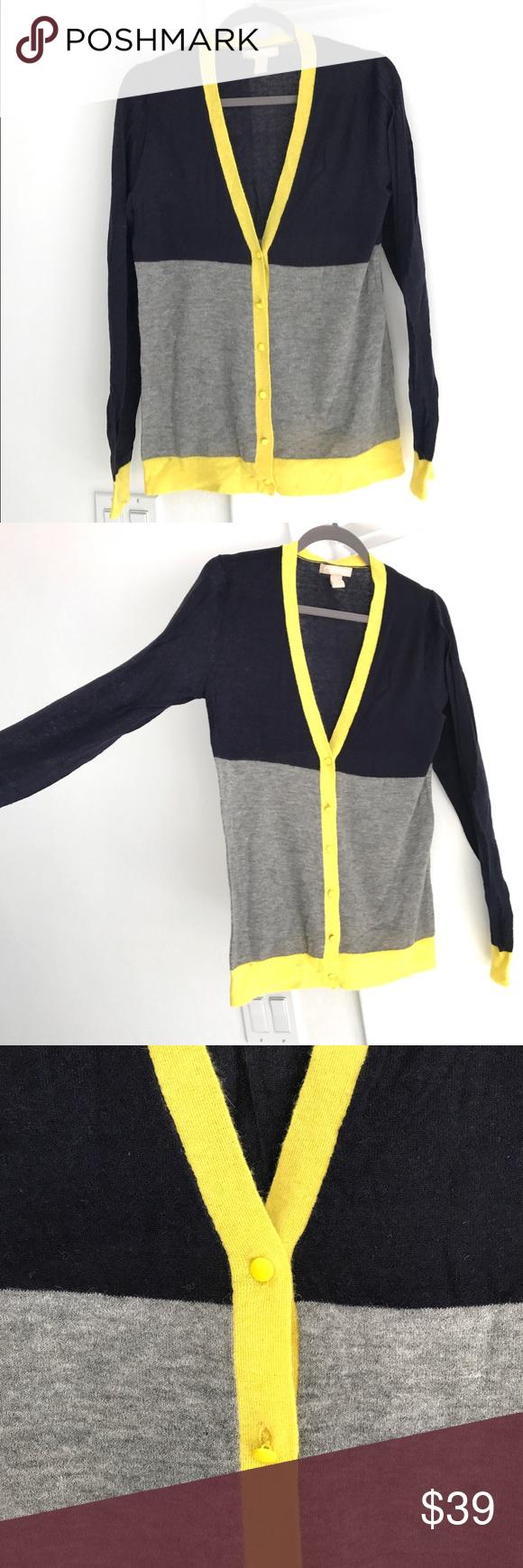 Fun Modern Banana Republic Cardigan Sweater | Metal buttons ...