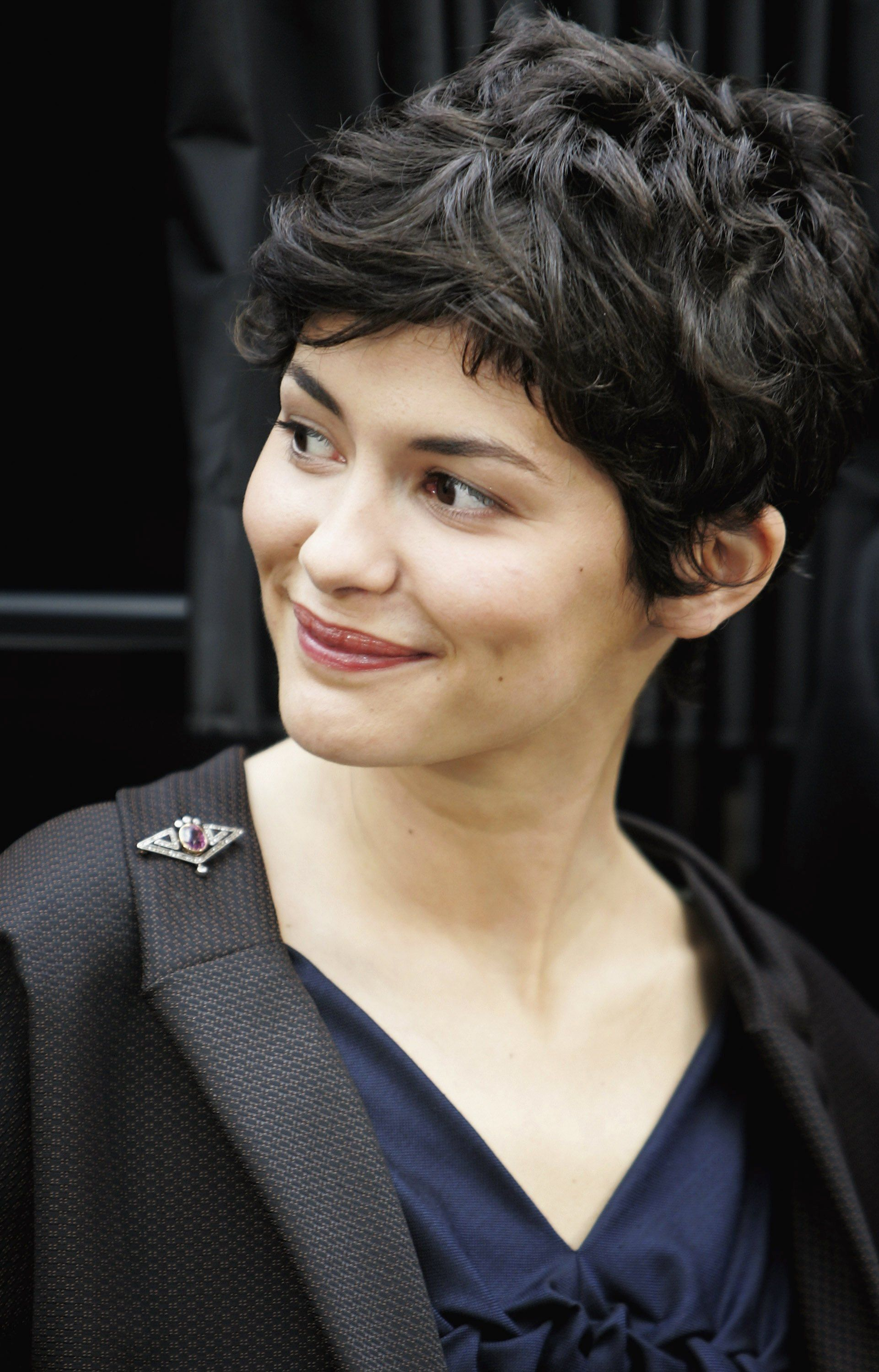 Audrey Tautou Curly Hair Styles Haircuts For Wavy Hair Thick Hair Styles