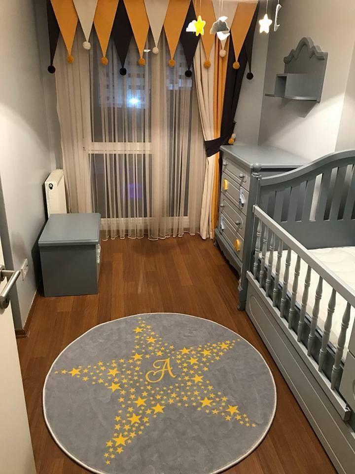 Vorhang Modelle Kinderzimmereinrichtung Babyzimmer