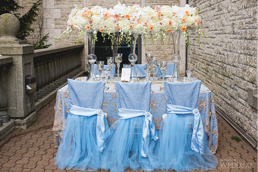 WedLuxe– Unforgettable Blue   Photography By: Simply Sweet Photography Follow @WedLuxe for more wedding inspiration!