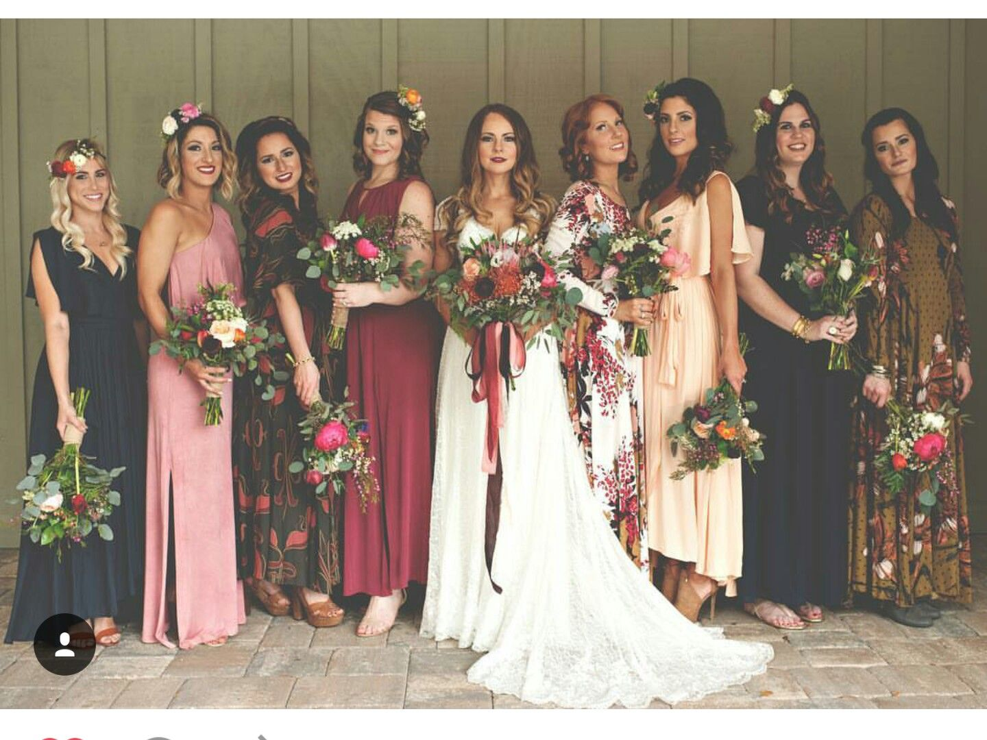 Pin by prettychicdetails on benny and erick wedding pinterest floral bridesmaid dresses ftw always see more from this rainy earth day ombrellifo Image collections