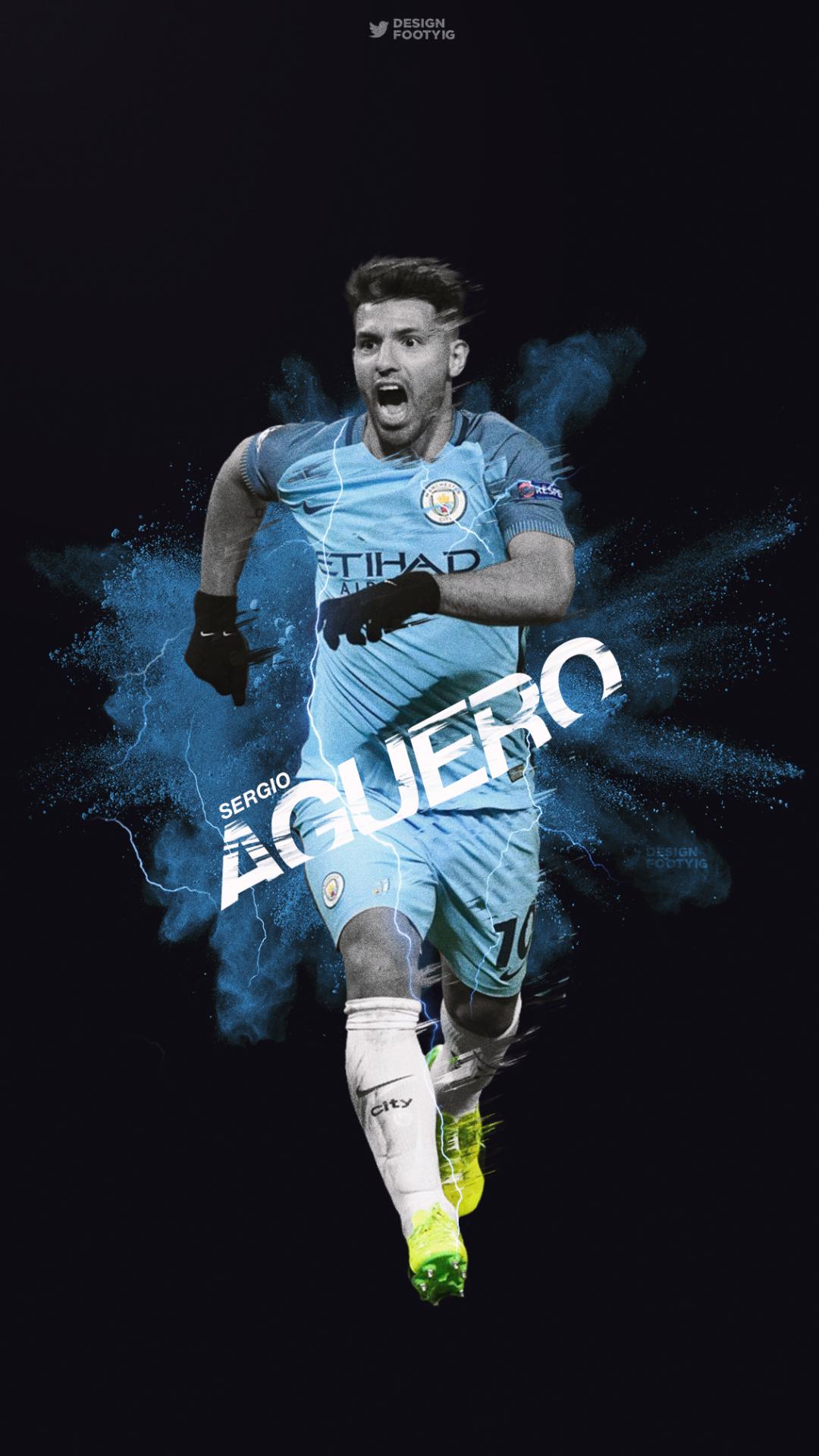 DESIGNDANIEL Sergio Kun Aguero Edit Phone Wallpaper By Design Daniel On Tumblr Football