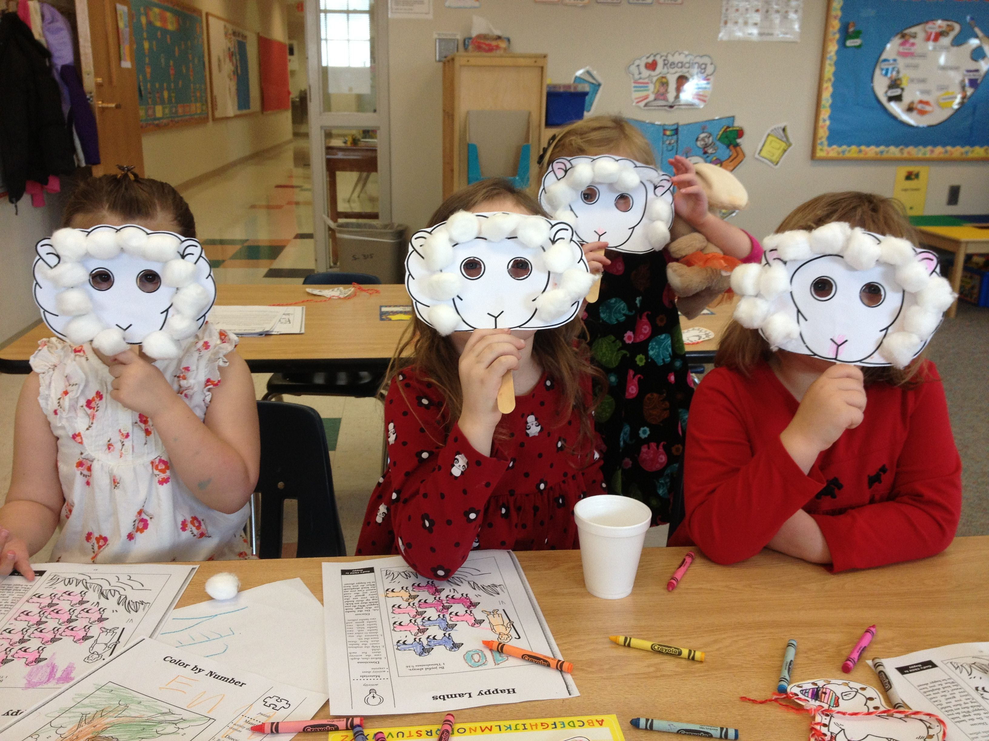Learn about crafts kids can make to celebrate thanksgiving. Sheep For Bible School The Lord Is My Shepherd Preschool Sunday School Craft Sunday School Crafts Sunday School Sunday School Projects