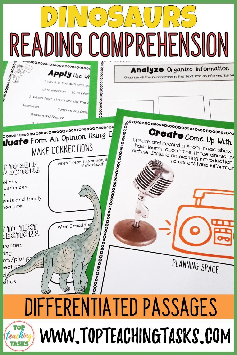 Dinosaurs Reading Comprehension Passages And Questions Reading Comprehension Improve Reading Comprehension Reading Comprehension Passages [ 1497 x 1000 Pixel ]