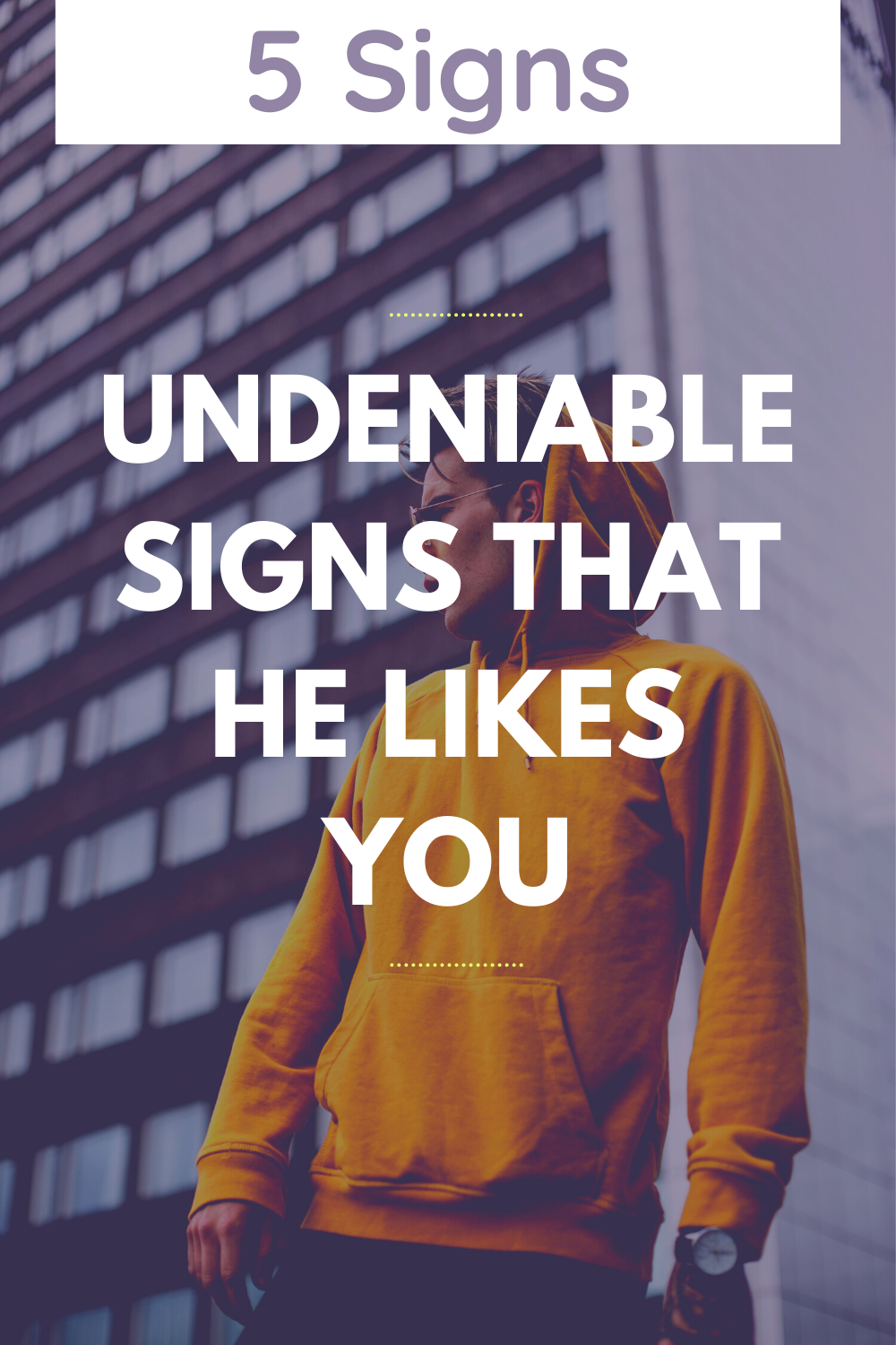 Undeniable Signs That He Likes You | Boyfriend ignoring