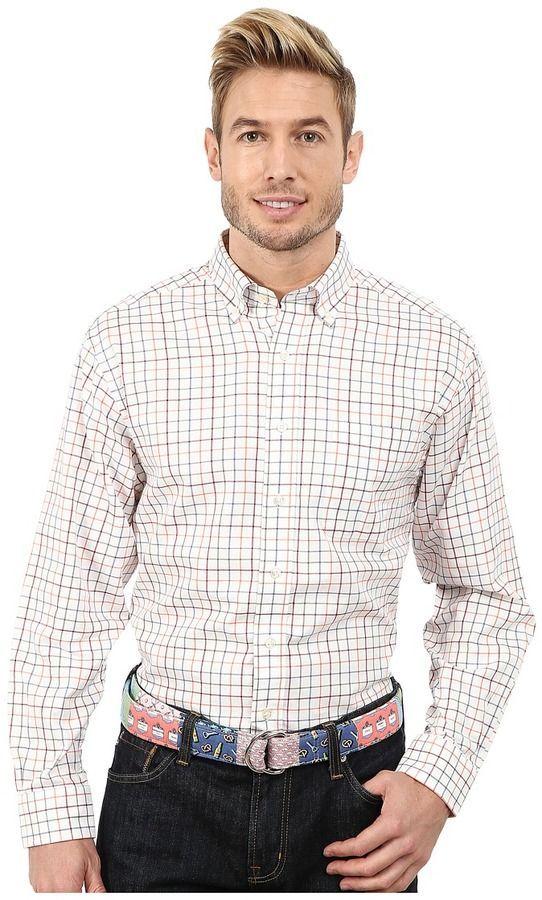 19d536daa Vineyard Vines Duck Wallow Check Murray Shirt Men s Clothing ...