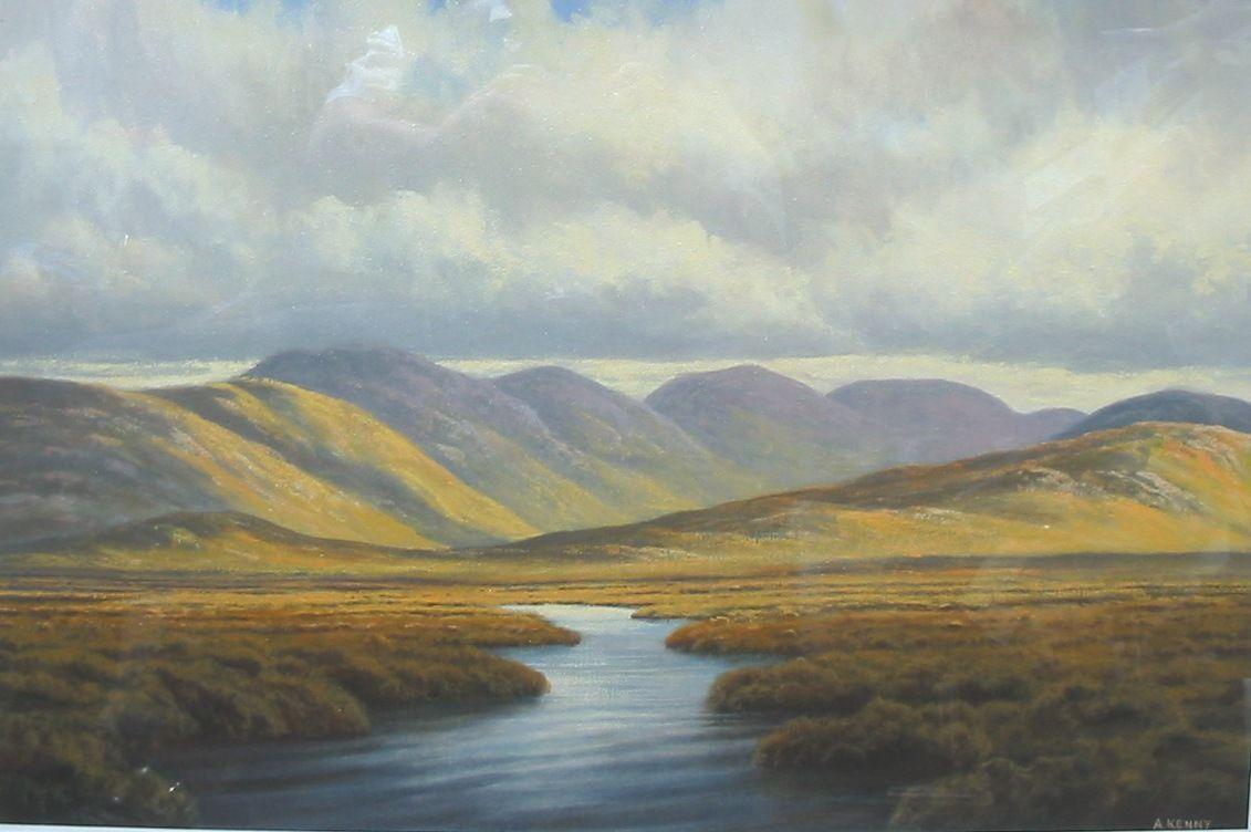 Landscapepaintings daniel goddard blog irish for Artwork landscapes