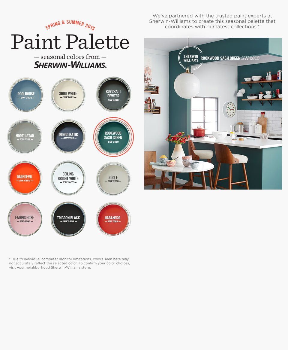 Loving the ROOKWOOD SASH GREEN from Sherwin Williams   home   Pinterest