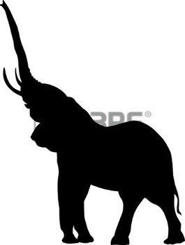 Perfil De Elefante Trompa Dibujo Buscar Con Google Art Elephant Tatto