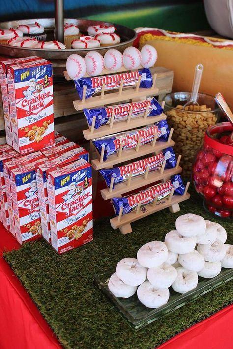 Photo of Baseball Birthday Party Ideas | Photo 9 of 34