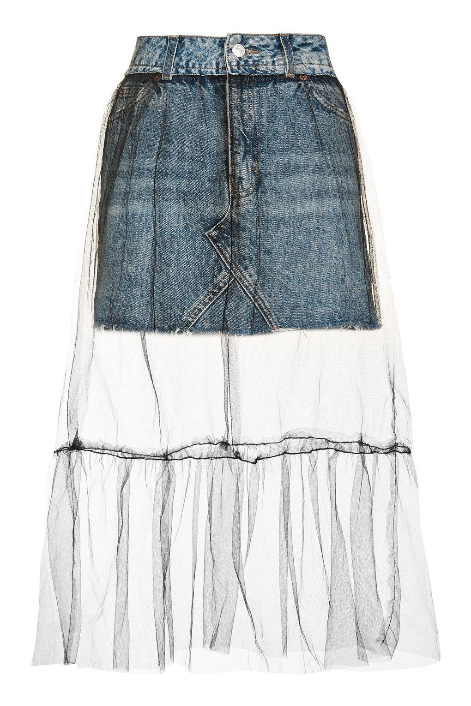 fbd3533566 Carousel Image 0 Tulle Mini Skirt, Tulle Skirts, Midi Skirts, Mesh Skirt,