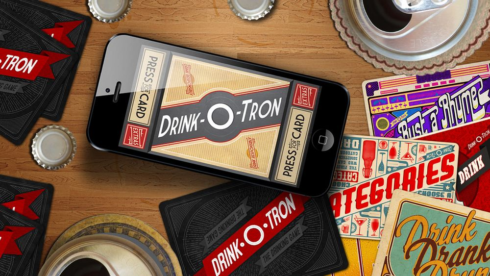 Printable drinking cards game free!! There's an app for