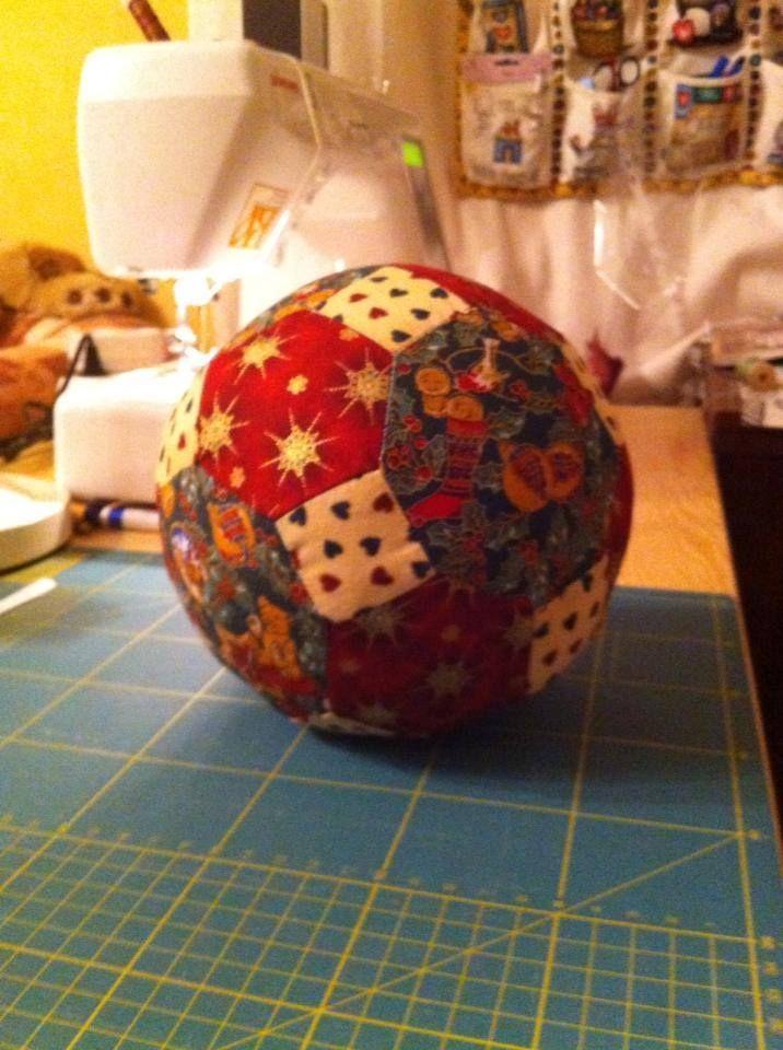 "my handmade patchwork  - New Year Ball(d=6"")"