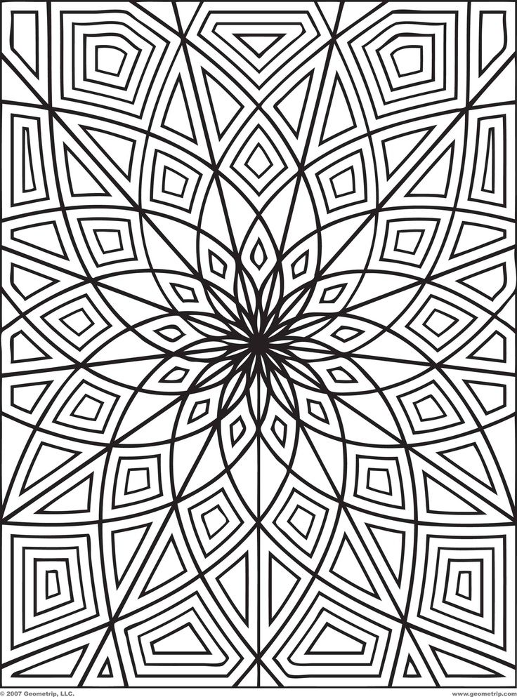printable coloring designs. mandala design adult coloring pages ...