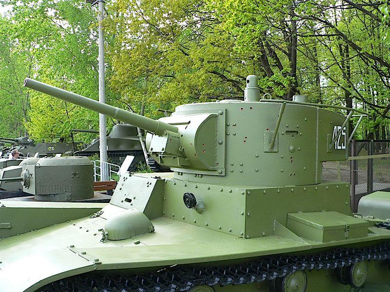 Char léger T-26 – WalkAround
